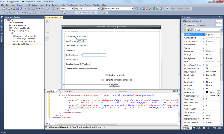 Single source code base for silverlight and wpf solutions – brad.